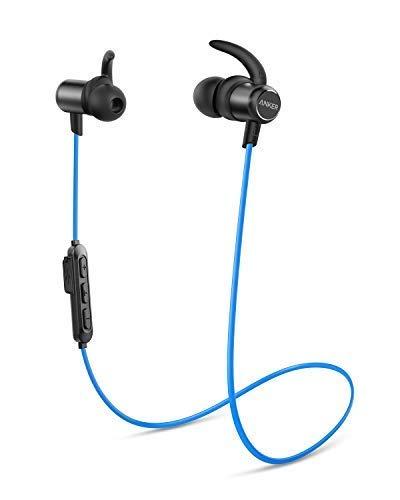 Anker Soundbuds Slim Bluetooth Kopfhörer, Upgraded Kabellose In-Ear Kopfhörer mit 10 Stunden Akkulaufzeit, IPX7 Wasserschutzklasse, Bluetooth 5.0 und Erstklassiger Sound (Slim Kopfhörer)