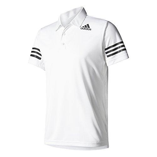 Adidas ClimaCool Polo Tennis, Herren Weiß