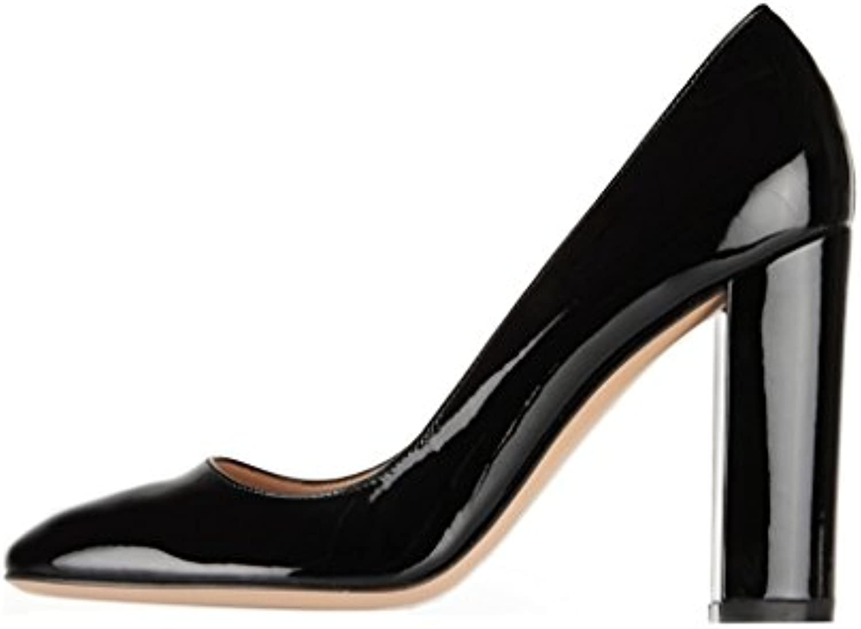 Soireelady - Scarpe da donna - Tacco a Blocco - - - 10CM - Scarpe col Tacco | Prestazioni Affidabili  | Scolaro/Ragazze Scarpa  17f1be