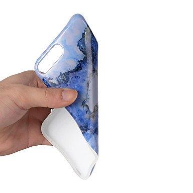 Étuis et housses pour téléphones mobiles, pour casque couverture ultra-mince back cover case marbre soft tpu pour apple iphone 7 plus iphone 7 iphone 6s plus iphone 6 plus iphone ( Modèles Compatibles IPhone 7 Plus