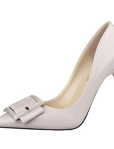 WSS 2016 Chaussures Femme-Décontracté-Noir / Vert / Violet / Rouge / Blanc / Gris-Talon Aiguille-Talons-Talons-Laine synthétique black-us6 / eu36 / uk4 / cn36