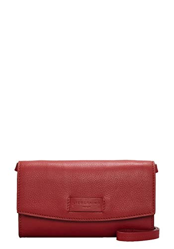 Liebeskind Berlin Damen Essential Clutch Small, Rot (Italian Red), 4x12x21 cm (Clutch Red-abendtaschen)