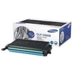 Preisvergleich Produktbild Samsung CLP-C660B/ELS Original Toner (Hohe Reichweite, Kompatibel mit: CLP-610/CLP-660/CLX-6200/6210/6240 Series) cyan