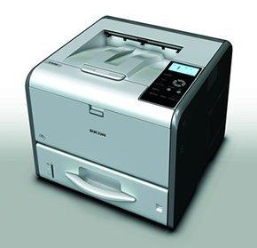 Ricoh SP 4510DN 1200 x 1200DPI A4 Grau, Weiß - Laser-/LED-Drucker (1200 x 1200 DPI, 150000 Seiten pro Monat, Schwarz, 40 Seiten pro Minute, 17 s, 5 s) -