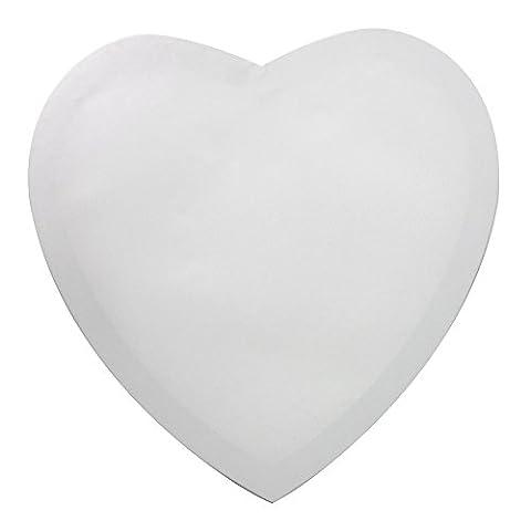 Keilrahmen Frau Wundervoll Herz 60 x 60 cm / Leinwand