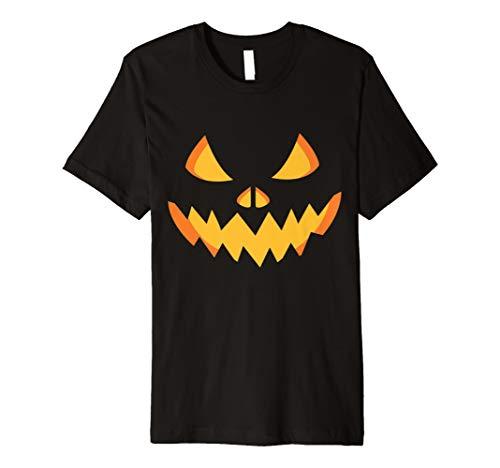 Scary Kürbis Halloween T-Shirt