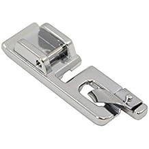 Prensatelas para máquinas de coser de caña baja, uso doméstico, Labellevie 1cm blanco