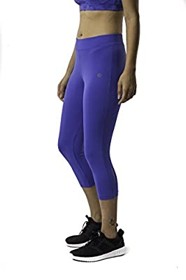 Athlete Women's 3/4th Essential Tightsfor Gyming/Jogging/Exercise/Running/Yoga/Sports
