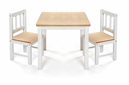 Reer Kindersitzgruppe Eat&Play, Kindertisch mit zwei Kinderstühlen