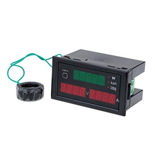 Flushzing DL69-2047 AC 80-300V 100A Voltmeter Tester Multi-Funktions-Strommessgerät Digital-elektrische Energie-Strom Spannung Power Meter Digital Multi Meter Tester