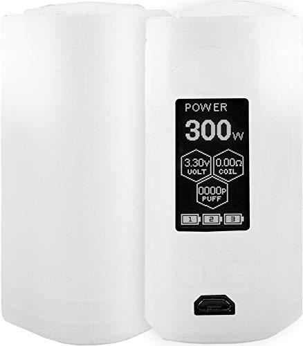 Baluum Hülle für Wismec Reuleaux RX GEN3 300W in Transparent E-Zigaretten Schutzhülle aus Silikon ähnlichen TPU