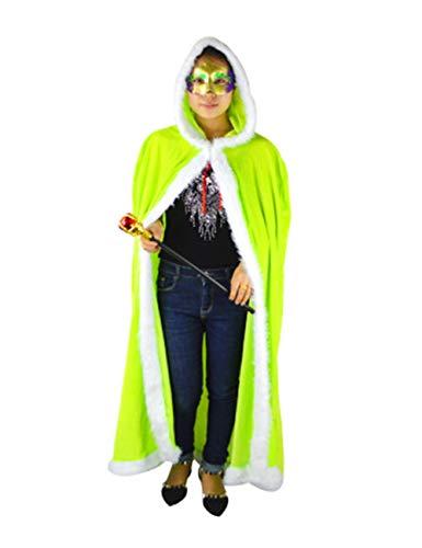 Zhhlaixing Halloween Elf Umhang Warm halten - Niedlich Weihnachten Umhänge Cosplay Kostüm zum Erwachsene Kinder