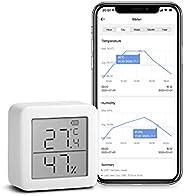 SwitchBot Thermometer Hygrometer Wireless Indoor Vochtsensor Add SwitchBot Hub Plus / Mini compatibel met Alex