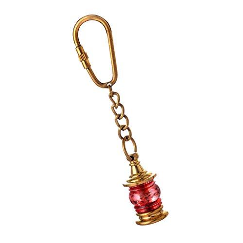MagiDeal Karabinerhaken Schlüsselring Lampe Stil Schlüsselanhänger Träger Legierung (Stil-träger)