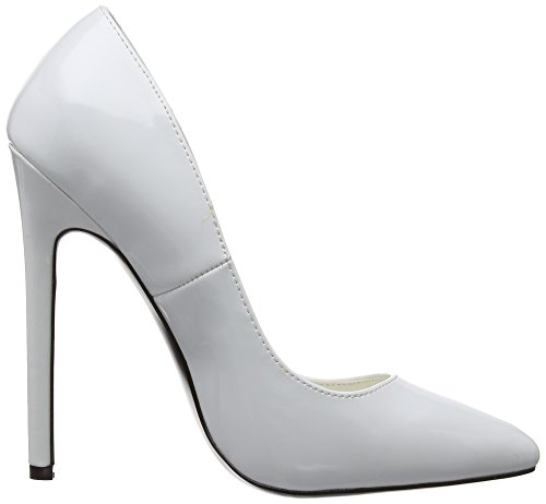 Brillante 20 Pleaser Scarpe Bianca Sexy bianco Donna 707aYq