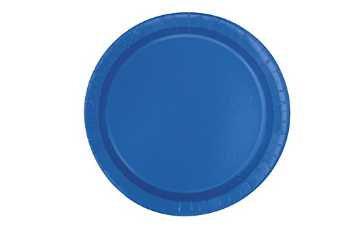 18cm-royal-blue-party-plates-pack-of-20
