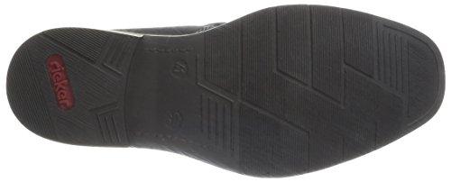 Rieker 30862-00, Stivali bassi Uomo Nero (Schwarz (schwarz/granit / 00))