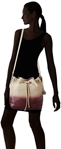 Marc O'Polo Drawstring Bag, Sacs bandoulière Femme Beige (sand/plum 502)