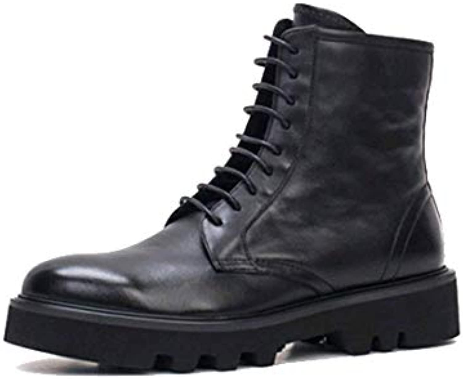 Martin Boots Cuir Cuir Angleterre Haut-Top Bottes Hommes Haut-Top Angleterre 39b546