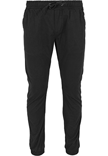 Urban Classics Cotton Twill Jogging Pants Pantaloni jogging nero 32
