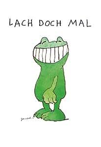 Poster 48 x 58 fou rencontrez janosch-grenouille smile imprimé image de neuf