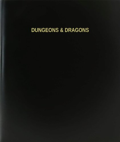 BookFactory® Dungeons & Dragons Log Book / Journal / Logbook - 120 Page, 8.5