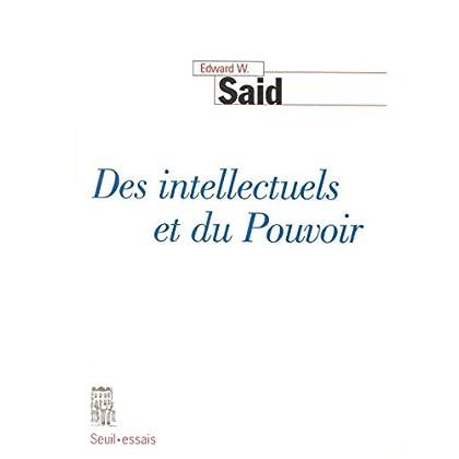 Des intellectuels et du Pouvoir