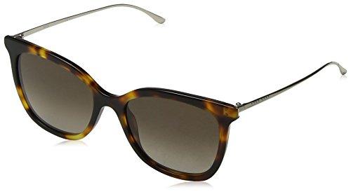 Hugo boss boss 0945/s ha occhiali da sole, marrone (dark havana/bw brown), 53 donna