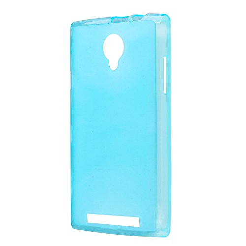 Prevoa ® 丨Original Transparent Silicone TPU Cover Funda para THL T6 T6S T6S PRO 5.0' Smartphone - Azul