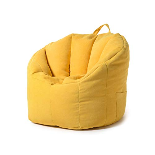 MDBLYJ Faule Couch, Tatamisofa Bay Fenstersessel, (Farbe : Gelb)