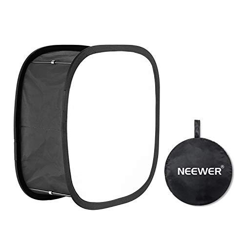 Neewer LED Light Panel Softbox für 480 LED Licht 9,25 x 9,25 Zoll Öffnung faltbar mit Sicherungsband und Tragetasche für Fotostudio-Porträts Fotografie Videoaufnahme -