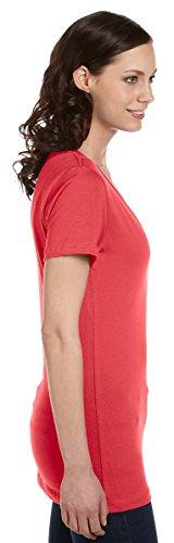 Bella -  T-shirt - Asimmetrico - Donna MAROON MARBLE