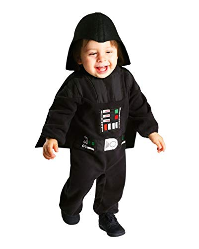 Star Kostüm Lizenzierten Wars - Horror-Shop Lizenziertes Star Wars Classic Darth Vader Kleinkinderkostüm Kleinkind