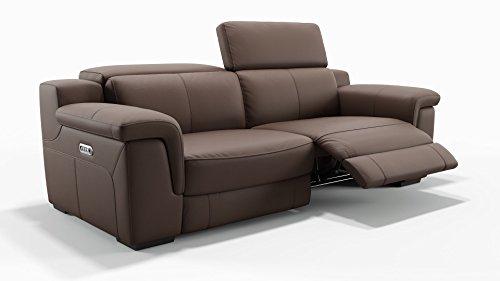 Ledersofa Funktionscouch Leder Couch Couchgarnitur TV Sofa Relaxcouch Polstergarnitur