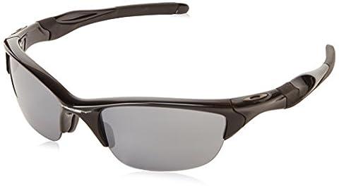 Oakley Men's Half Jacket 2.0 Sunglasses, Multicolour (Polished Black /