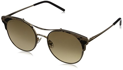Jimmy Choo Damen LUE/S 86 XMG 59 Sonnenbrille, Gold (Gdblkanimali/Bw Black Brown),