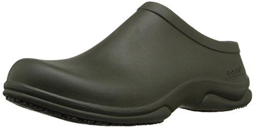 Bogs Mens Stewart Health Care & Food Service Shoe Dark Green