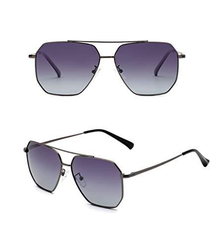 GJMB Herren Sport Polarisierte Sonnenbrille Metallrahmen Sonnenbrille HD Lens Fashion Sonnenbrille für Herren Sport Sonnenbrille-Purple