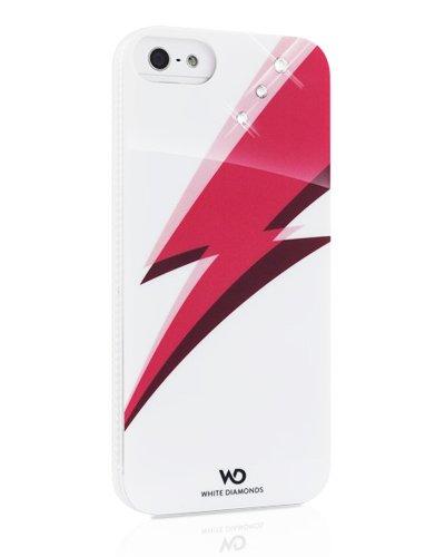 White Diamonds Blitz Schutzhülle für Apple iPhone 5 / 5S, in Einzelhandelsverpackung, Weiß/Pink
