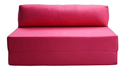 JAZZ SOFABED - HOT PINK Deluxe Double Sofa Bed
