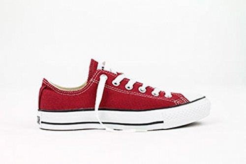 CONVERSE Chuck Taylor All Star Seasonal Ox, Unisex-Erwachsene Sneakers, Rot (Bordeaux), 38 EU