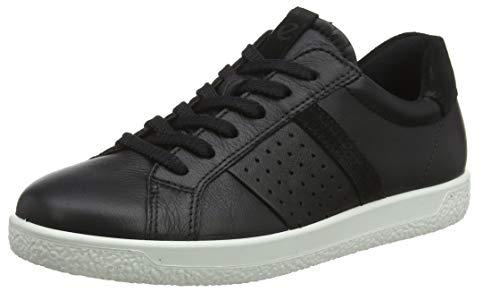 ECCO Damen Soft 1 Ladies Sneaker, Schwarz Black 51052, 41 EU