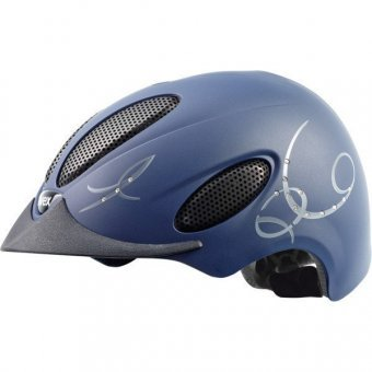 Uvex Perfexxion Glamour Helm, Damen,Perfexxion Glamour, blau,  Gr. M-L (57-59 cm)