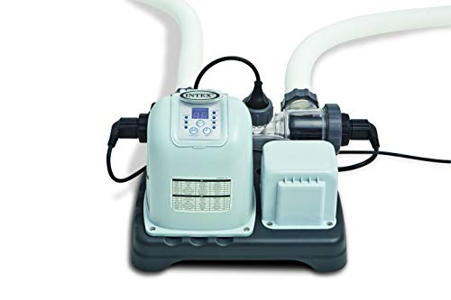 Intex Krystal Clear Saltwater System - Poolreinigung - Salzwassersystem - 12V - Bis zu 56,800L Pool