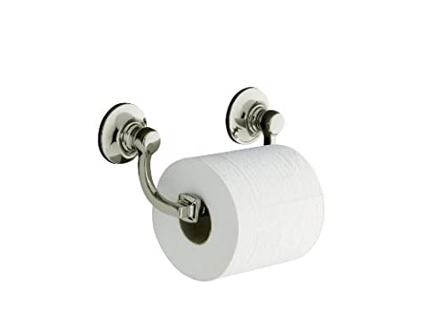 Kohler K-11415-SN Bancroft Toilet Tissue Holder, Vibrant Polished Nickel by KOHLER (English Manual)