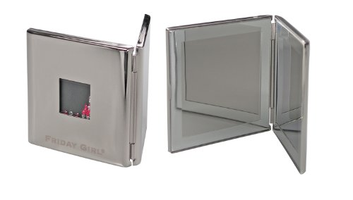 Friday Girl Taschenspiegel Kosmetikspiegel Handspiegel mit Swarovski® Elements