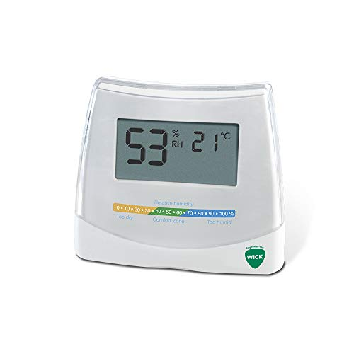 Wick 2-in-1 Hygrometer and Thermometer W70DA (Luftbefeuchter Guard)