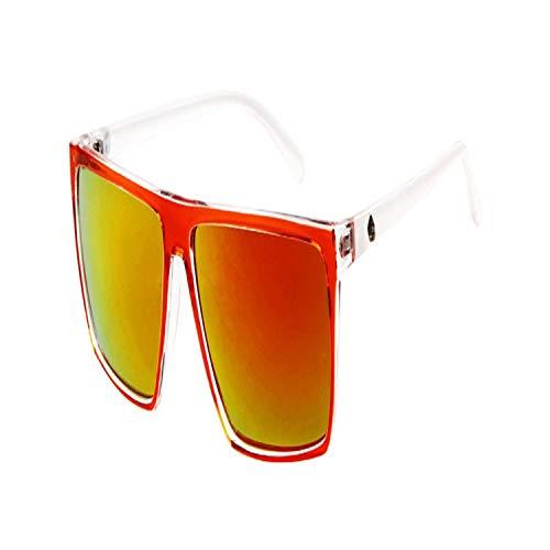 Sportbrillen, Angeln Golfbrille,Retro Square Sunglasses Mens Vintage Sun Glasses Brand Designer Man Goggles Square Steampunk Eyewares Gafas De Sol Gafas ST88 C8