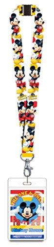 Disney Umhängeband Micky Maus mit Namensschild 85926