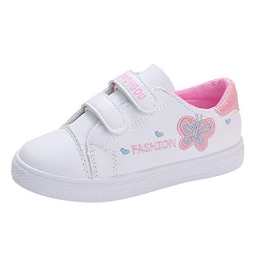 Zapatillas para Niñas Deportivas Verano 2020 PAOLIAN Zapatos de Deportes Niñas Running Blanco Casual...